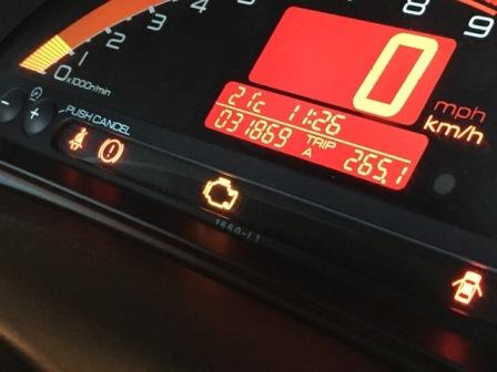 S2000 エンジンチェックランプ 点灯 O2センサー