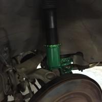 フェアレディZ Z33 TEIN車高調取付