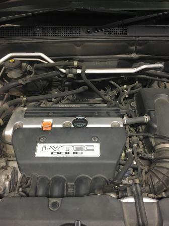 ホンダ RD5 CR-V スパークプラグ交換