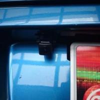 CR-Z バックカメラ取付け