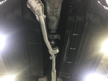 【スバル】BRZ ノックス・クリア・耐熱シルバー施工