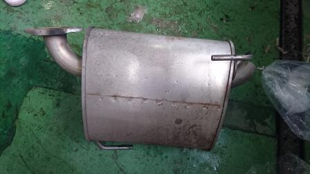 レガシィアウトバック BS9 リヤマフラー交換