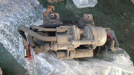 ランサーエボ8 CT9A AYCポンプ交換