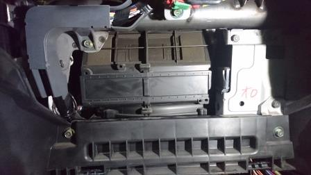 ランサーエボ8 CT9A エアコンフィルター交換