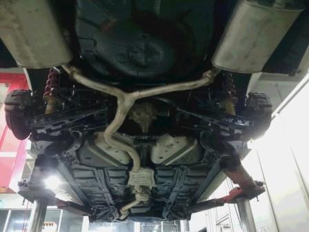 レガシィツーリングワゴン BRG ノックスドール施工