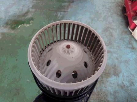 フェアレディZ Z34 ブロアモーター点検