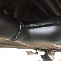 SG5フォレスターマフラー溶接修理