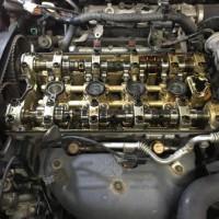 三菱 ランサーエボリューション8MR タペットカバーオイル滲み修理