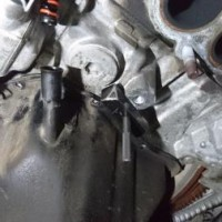 インプレッサSTI オイル漏れ修理