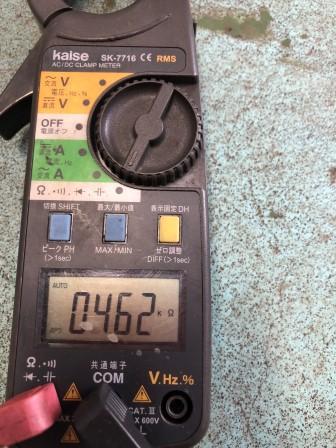 レガシィ BP5 O2センサー交換