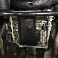 三菱 パジェロミニH58A ATオイルパンオイル漏れ修理