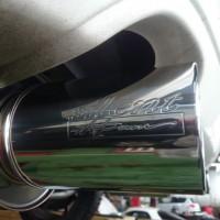 レガシィツーリングワゴン BP5 マフラー交換