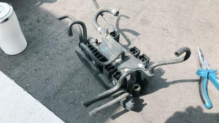 マツダ RX-7 FD3S バキュームユニット交換