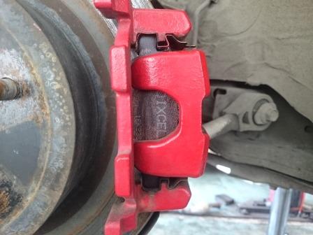 フェアレディZ Z34 リアブレーキパッド 交換