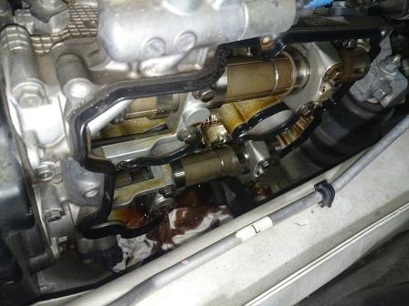 レガシィツーリングワゴン BR9 タペットカバーパッキン 交換