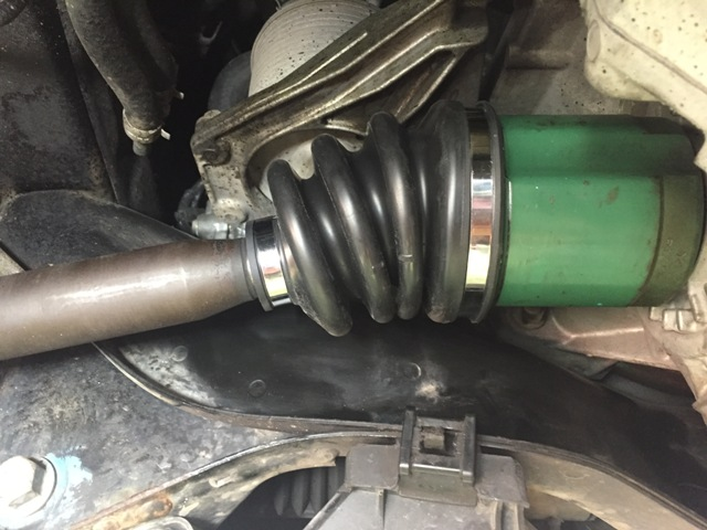 BP5レガシィ ドライブシャフトブーツ交換
