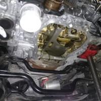 レガシィツーリングワゴン BR9 オイル漏れ 修理