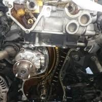 シルビア S14 オイル漏れ 修理