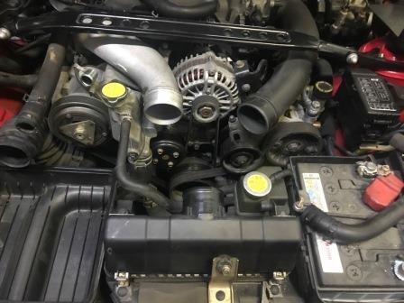 マツダ FD3S RX-7 Vベルト交換