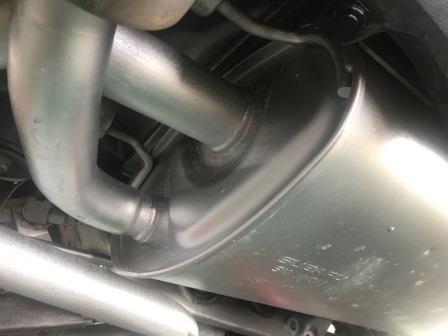 スバル BRZ 前期型 ノックス・クリア・耐熱シルバー