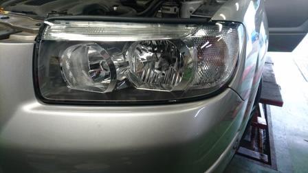 SG5 フォレスター ヘッドライト交換