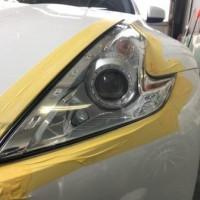 日産 フェアレディZ ヘッドライトコーティング