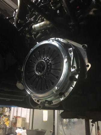 GTNET札幌 作業実績CT9Aランエボ9MR クラッチ交換