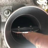 アイシス ZGM15W スロットル清掃