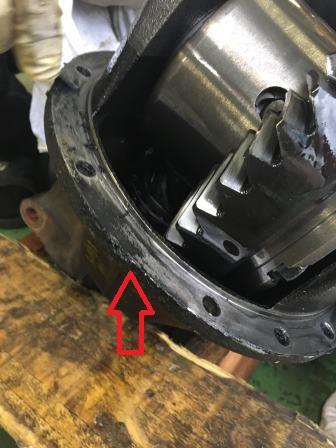 GTNET札幌作業実績 S2000 リヤデフオイル漏れ修理