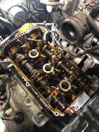 GTNET札幌 ワゴンR MH22S タペットカバーパッキン交換
