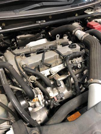 GTNET札幌 CZ4A ランサーエボリューションX スパークプラグ交換