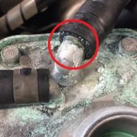 GDBインプレッサ クーラント漏れ修理