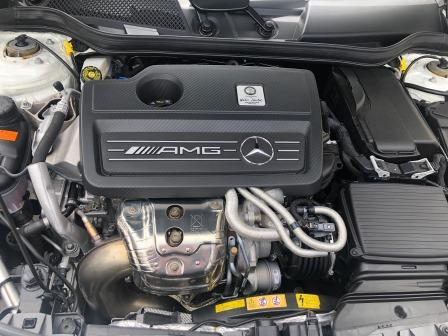 GTNET札幌 CLA45 AMG RACECHIP取付け
