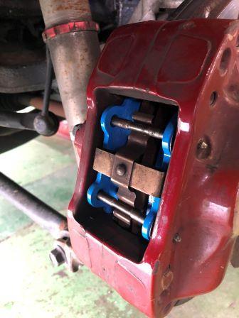 GTNET札幌 ランサーエボリューション10 エンドレスSSM ブレーキパッド交換